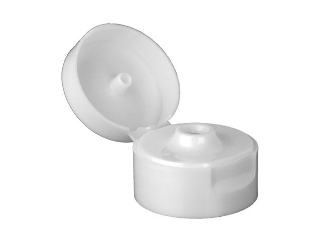 22 400 Pearl White Flip Top Dispensing Bottle Cap