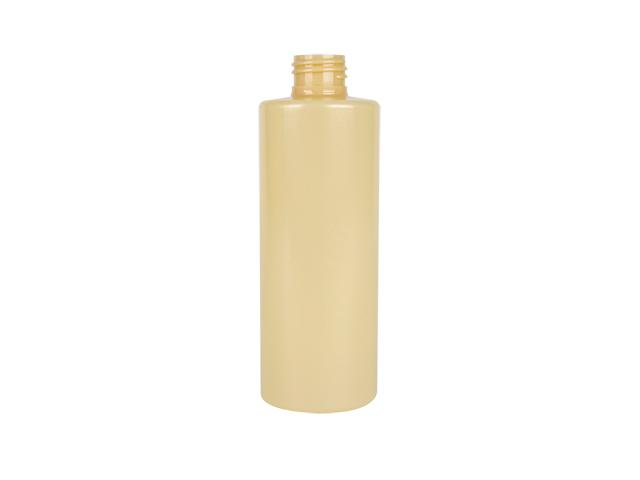 3 oz. Yellow Cylinder Round Squeezable 20-410 PET Opaque Plastic Bottle w/ Colored Lid 60% OFF
