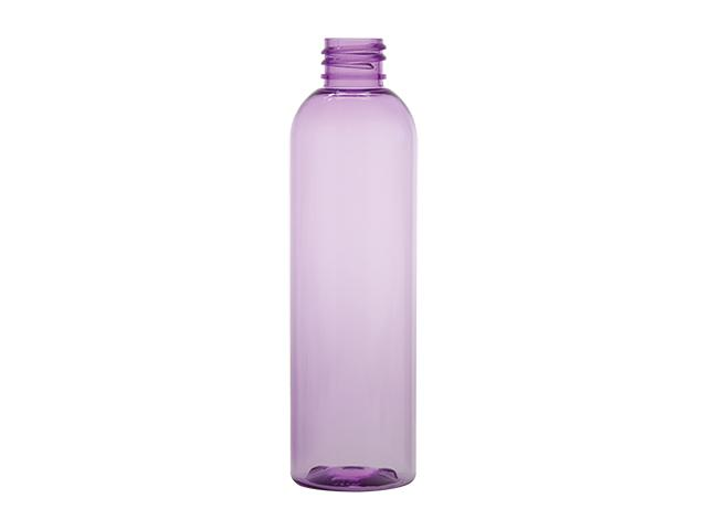 4 oz. Purple Light 20-410 PET (BPA Free) Plastic Bullet Round Bottle w/ Fine Mist Sprayer or Lotion Pump (2 pc.) 30% OFF (Stock Item)