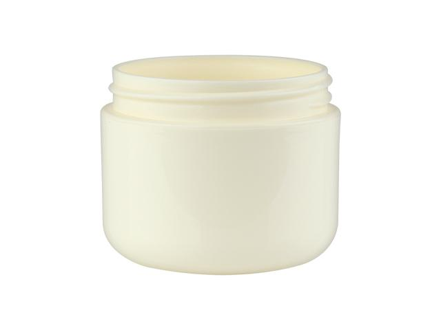 2 oz. Ivory Plastic Double Wall 58-400 PP Jar 40% OFF