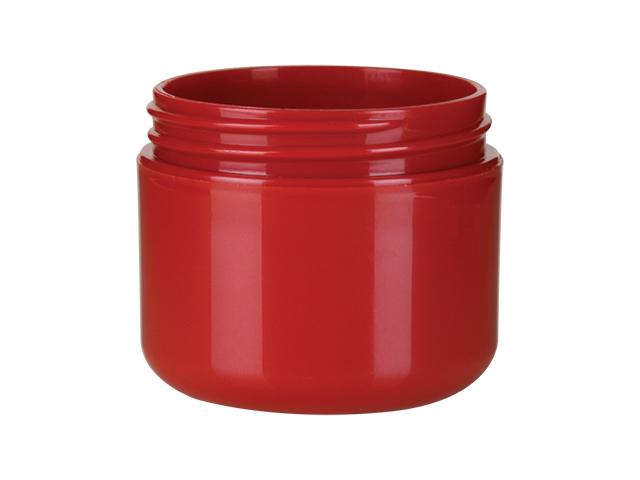 2 oz. Red Iridescent Plastic Double Wall 58-400 Jar 40% OFF