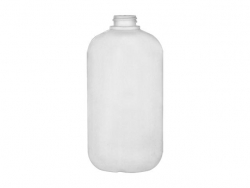 12 oz. Natural semi-opaque HDPE Soft Touch Boston Round 22-400 Plastic Bottle with 1.5 in. Flip Top Dispensing Cap (2 pc set)  50% OFF