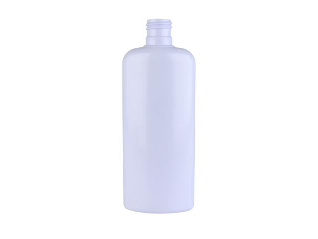 6 oz light purple oval hdpe bottle