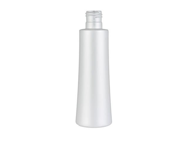 6 oz.White Pearl Opaque HDPE 24-415 Tapered Round Plastic Bottle with Lotion Pump (2 pc set) 35%-40% OFF