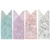 3x9 in. Mixed (light) Tulip Top Design Organza Bag (12 pk.)