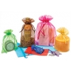 4.5 x 5.5 in. Organza Bag with Draw String in 24 Colors (12 pk.)  50% OFF WITH VOLUME DISCOUNTS