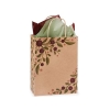 8 in. x 4.75 in. x 10 in. Medium (Cub) Tuscan Harvest Paper Gift Bag 100% Recycled VOLUME DISCOUNTS