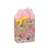 8 in. x 4.75 in. x 10 in. Medium (Cub) Wildflower Meadow Paper Gift Bag 100% Recycled VOLUME DISCOUNTS
