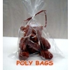 100 pk.  4x6 in. Poly Bags