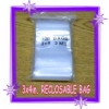 100 pk.  3x4 in. Reclosable (zip lock) Poly Bags VOLUME DISCOUNTS
