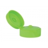 22-400 Green Apple Dispensing  Flip Top Bottle Cap w/ .185 in. Orifice & 2 in. Diameter (Surplus)