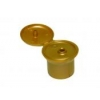 24-415 Bronze Pearl Mushroom Flip Top Dispensing Cap w/ .195 in. Orifice