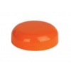63 mm Orange Dome Non Dispensing Plastic Jar Cap