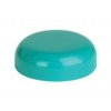 63 mm Teal  Dome Smooth Non Dispensing Plastic Liner-less Jar Cap 50% OFF