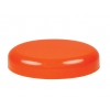 89-400 Orange Dome Non Dispensing Smooth Liner-less PP Plastic Jar Cap