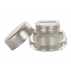 1/4  oz. (7 mm) Clear-Champagne Acrylic Jar w/ Champagne Cap w/ Foil Liner 50% OFF