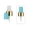 24-410 Gold/Natural/Blue Fine Mist Pump Sprayer w/ 6 1/2 in dip tube