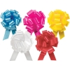 5.5 in. Wide Flora Satin Polypropylene Pull Bows w/ 20 Loops of 1 7/16 in. Wide Ribbon in 18 colors  50% OFF